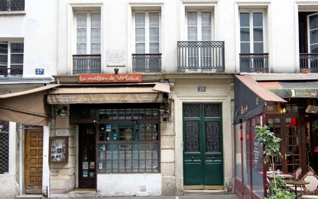 Отель My Nest Inn Paris Panthéon вид на фасад