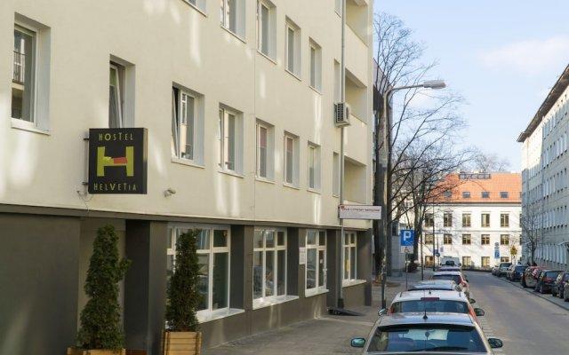 Отель Hostel Helvetia Польша, Варшава - 1 отзыв об отеле, цены и фото номеров - забронировать отель Hostel Helvetia онлайн вид на фасад