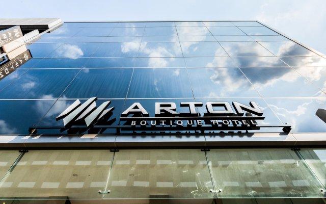 Arton Boutique Hotel вид на фасад