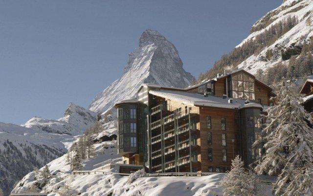 Отель The Omnia Швейцария, Церматт - отзывы, цены и фото номеров - забронировать отель The Omnia онлайн вид на фасад