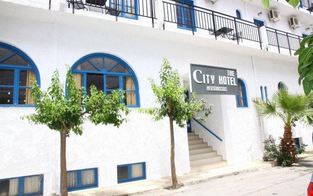 City Green Hotel вид на фасад