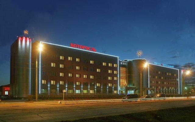 Гостиница Которосль в Ярославле 3 отзыва об отеле, цены и фото номеров - забронировать гостиницу Которосль онлайн Ярославль вид на фасад