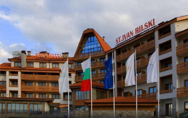 Отель St. Ivan Rilski Hotel & Apartments Болгария, Банско - отзывы, цены и фото номеров - забронировать отель St. Ivan Rilski Hotel & Apartments онлайн вид на фасад