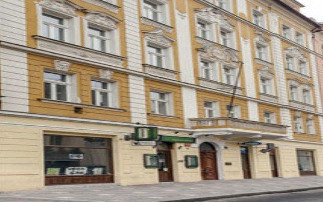 Апартаменты Downtown Apartments Prague Прага вид на фасад