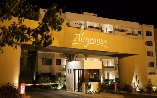 Отель Alegranza Luxury Resort вид на фасад
