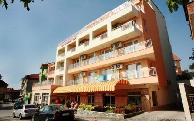 Obzor City Hotel Аврен вид на фасад
