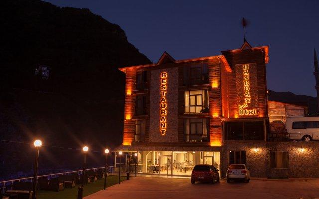 Hanedan Suit Hotel вид на фасад