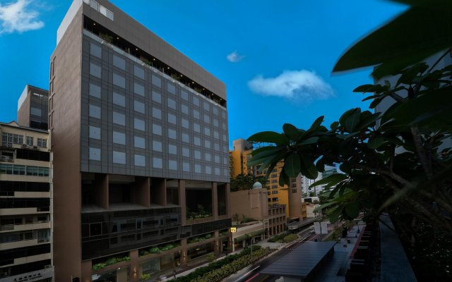 Hotel Mi вид на фасад