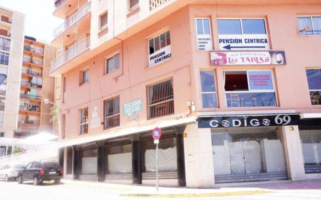 Отель Pension Centricacalp вид на фасад