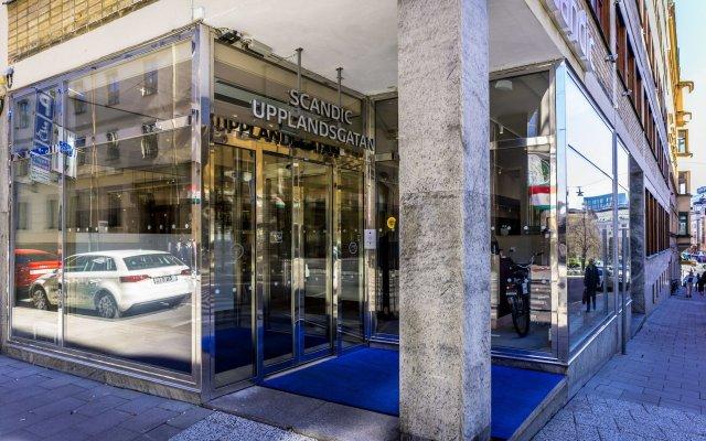 Отель Scandic Upplandsgatan Швеция, Стокгольм - 2 отзыва об отеле, цены и фото номеров - забронировать отель Scandic Upplandsgatan онлайн вид на фасад