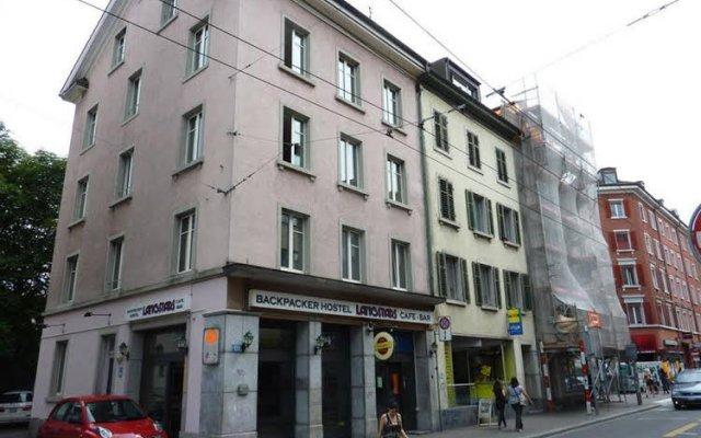 Отель Sleep And Go Цюрих вид на фасад