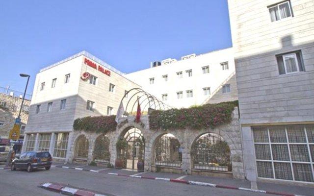 Отель Prima Palace Иерусалим вид на фасад