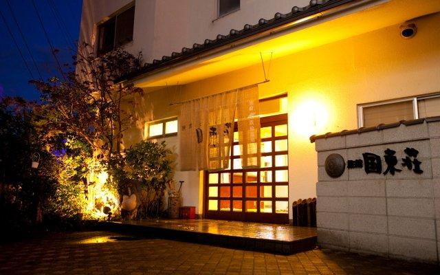 Отель Kunisakiso Беппу вид на фасад