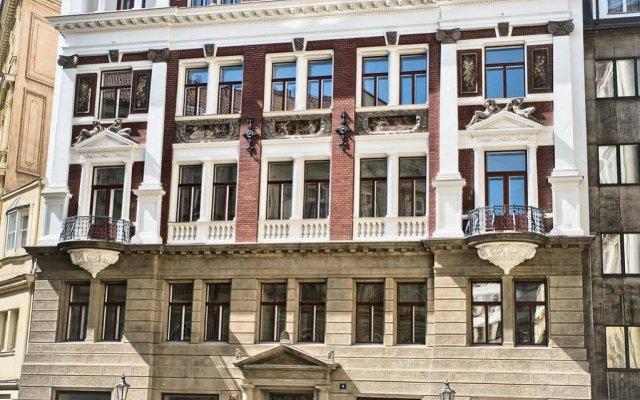 Отель Residence Karolina Прага вид на фасад
