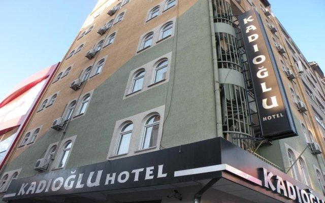Kadioglu Hotel Турция, Кайсери - отзывы, цены и фото номеров - забронировать отель Kadioglu Hotel онлайн вид на фасад