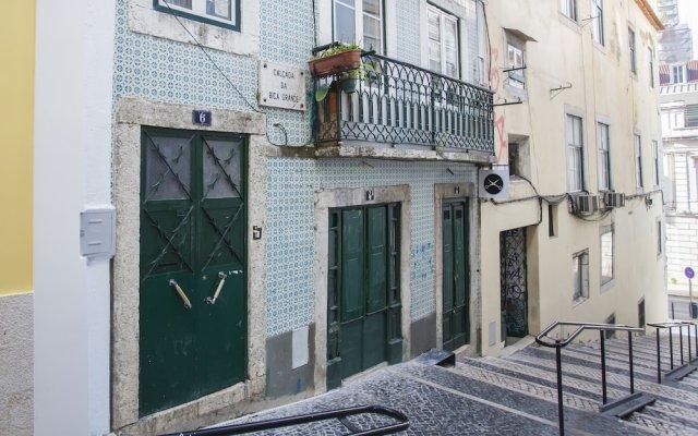 Отель Lisbon Inn Bica Suites вид на фасад