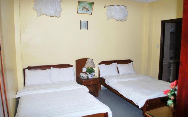 PK Hotel Далат комната для гостей