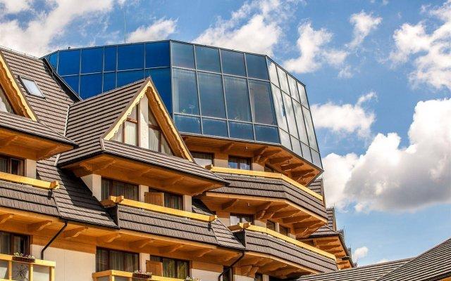 Отель Grand Nosalowy Dwór Польша, Закопане - отзывы, цены и фото номеров - забронировать отель Grand Nosalowy Dwór онлайн вид на фасад