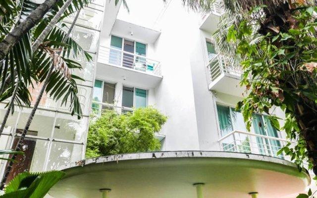 Отель P.K. Garden Home Бангкок вид на фасад