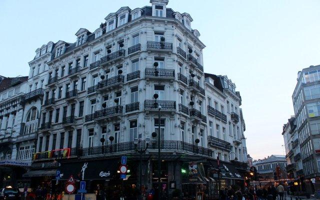 Отель Orts Бельгия, Брюссель - отзывы, цены и фото номеров - забронировать отель Orts онлайн вид на фасад