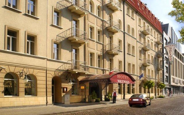 Hotel Hetman Варшава вид на фасад