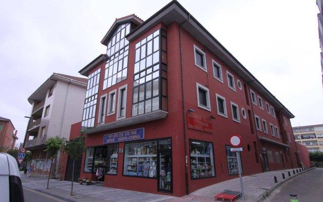 Отель Apartamentos Verdemar вид на фасад