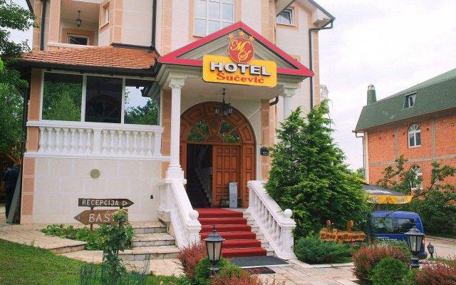 Sucevic Hotel вид на фасад
