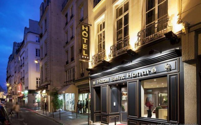 Hotel Saint Honore вид на фасад