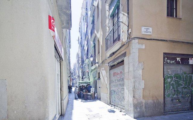 Отель Citytrip Palau de la Musica Барселона вид на фасад