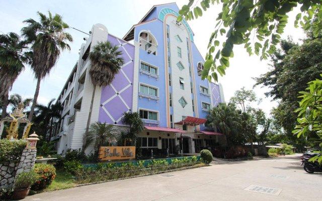 Отель Bella Villa Pattaya 3rd Road Таиланд, Паттайя - 13 отзывов об отеле, цены и фото номеров - забронировать отель Bella Villa Pattaya 3rd Road онлайн вид на фасад