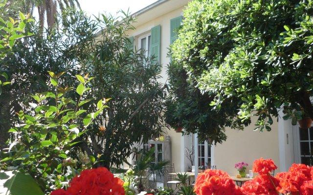 Отель Hôtel Villa Victorine Франция, Ницца - отзывы, цены и фото номеров - забронировать отель Hôtel Villa Victorine онлайн вид на фасад