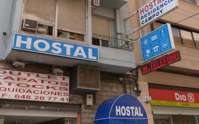 Отель Hostal Campoy Испания, Аликанте - отзывы, цены и фото номеров - забронировать отель Hostal Campoy онлайн вид на фасад