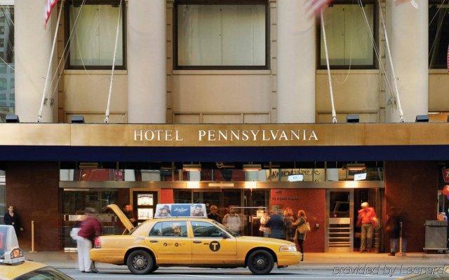 Отель Pennsylvania США, Нью-Йорк - - забронировать отель Pennsylvania, цены и фото номеров вид на фасад