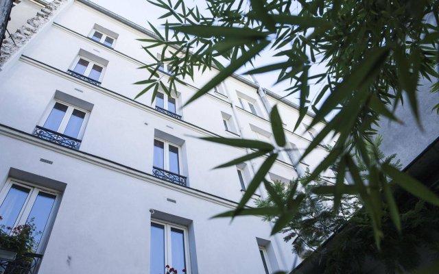 Отель La Maison Montparnasse Франция, Париж - отзывы, цены и фото номеров - забронировать отель La Maison Montparnasse онлайн вид на фасад