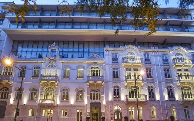 Отель PortoBay Liberdade Португалия, Лиссабон - отзывы, цены и фото номеров - забронировать отель PortoBay Liberdade онлайн вид на фасад