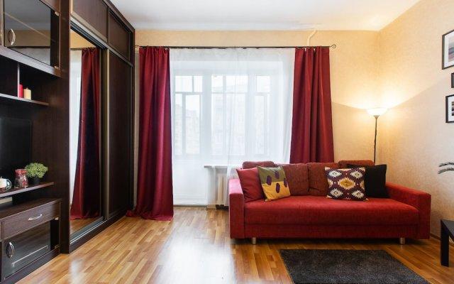 Отель GoodAps Sadovaya-Samotechnaya 5 Москва комната для гостей