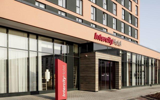 Отель IntercityHotel Braunschweig Германия, Брауншвейг - отзывы, цены и фото номеров - забронировать отель IntercityHotel Braunschweig онлайн вид на фасад
