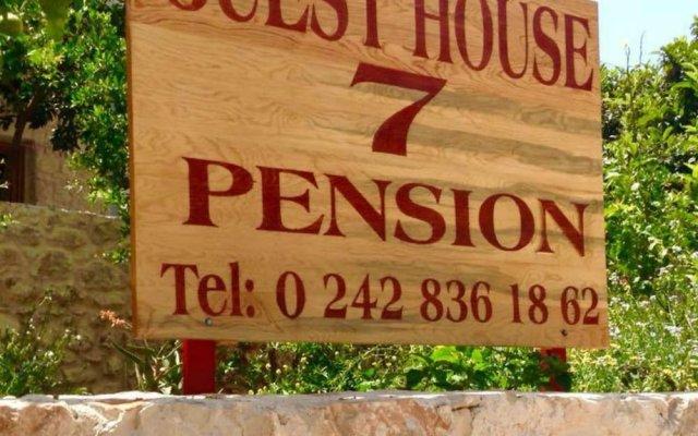 Guest House 7 Турция, Каш - отзывы, цены и фото номеров - забронировать отель Guest House 7 онлайн вид на фасад