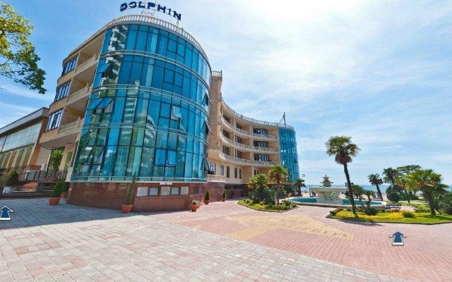 Гостиница Dolphin Resort Hotel & Conference в Сочи - забронировать гостиницу Dolphin Resort Hotel & Conference, цены и фото номеров вид на фасад