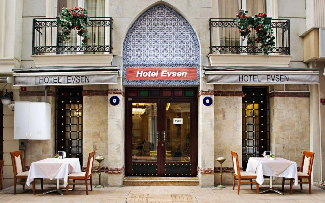 Hotel Evsen вид на фасад