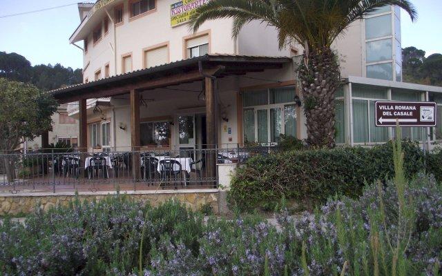 Hotel Ristorante Mosaici Пьяцца-Армерина вид на фасад