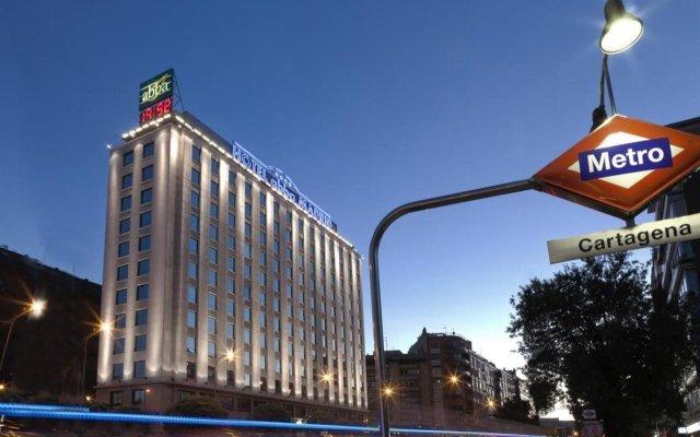 Отель Abba Madrid HotelSuperior Испания, Мадрид - отзывы, цены и фото номеров - забронировать отель Abba Madrid HotelSuperior онлайн вид на фасад