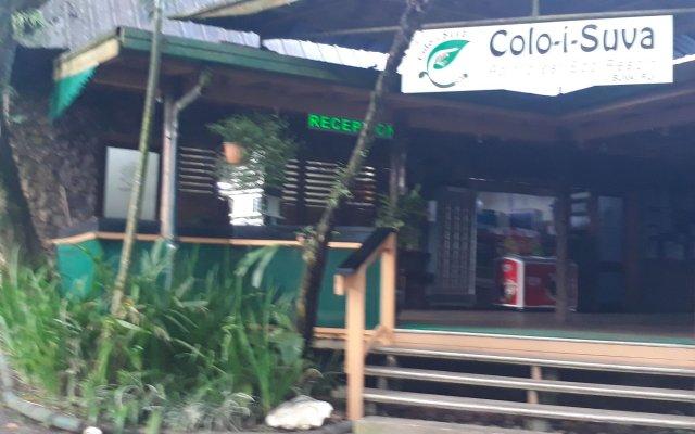 Отель Colo-I-Suva Rainforest Eco Resort Вити-Леву вид на фасад