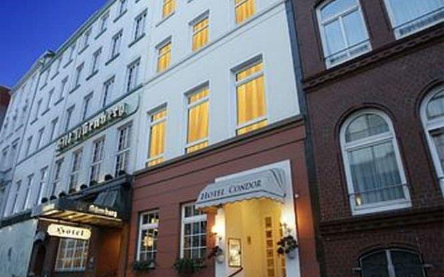 Отель Condor Германия, Гамбург - отзывы, цены и фото номеров - забронировать отель Condor онлайн вид на фасад