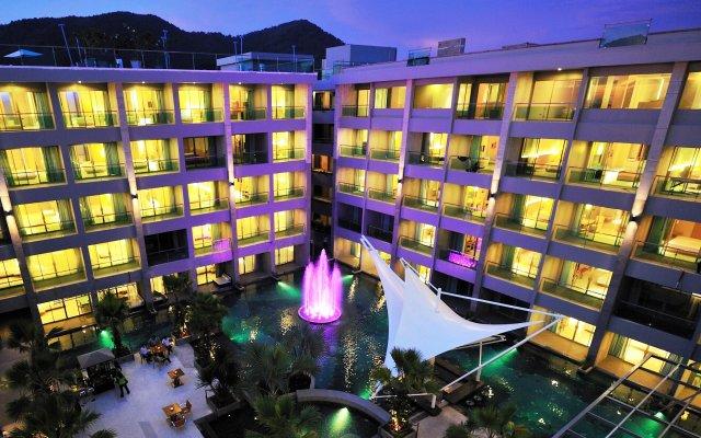 Отель The Kee Resort & Spa вид на фасад