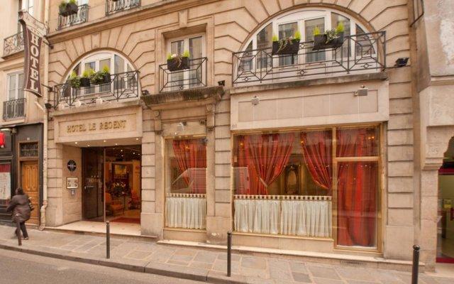 Отель Hôtel Le Regent Paris вид на фасад