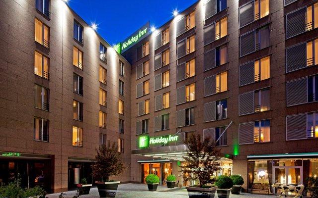 Отель Holiday Inn Congress Center Прага вид на фасад