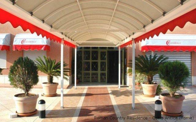 Отель Roman Country Residence Остия-Антика вид на фасад