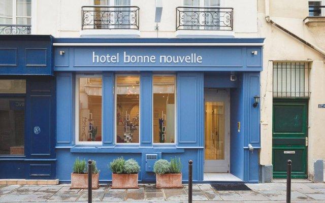 Отель Hôtel Bonne Nouvelle вид на фасад