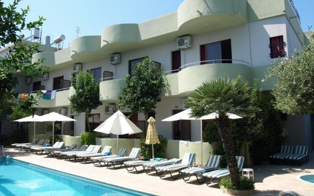 Отель Anseli Hotel Греция, Петалудес - 1 отзыв об отеле, цены и фото номеров - забронировать отель Anseli Hotel онлайн вид на фасад
